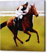 Champion Hurdle - Winner - Morley Street Canvas Print