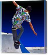 Champion Skater Canvas Print