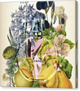 Chance Eau Tendre Notes 3 Canvas Print