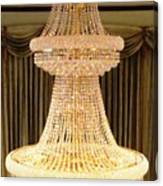 Chandelier Hanging Tall Canvas Print