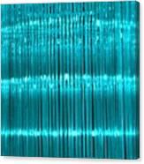 Chandelier In Blue 3 Canvas Print