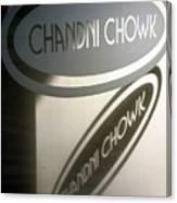 Chandi Chowk Canvas Print
