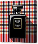 Chanel Coco Noir-pa-kao-ma2 Canvas Print