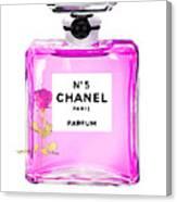 Chanel N 5 Perfume Print Canvas Print