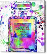 Chanel N.5 Colorful 5 Canvas Print