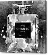 Chanel No. 5 Dark Canvas Print