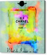 Chanel No.5  Canvas Print