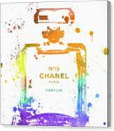 Chanel Number Nineteen Canvas Print