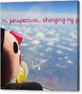 Changing My Perspective Canvas Print