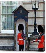Changing Of The Guard 2 Canvas Print