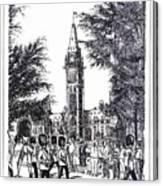 Changing Of The Guard Ottawa 1995 Canvas Print
