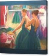 Channeling Degas Canvas Print