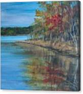 Channings Lake Canvas Print