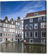 Channles Of Amsterdam Canvas Print