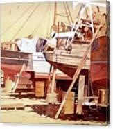 Chantier Naval Canvas Print