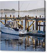 Chaos Near Bodega Bay Canvas Print