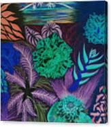Chaotic Beauty Invert Canvas Print