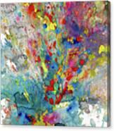 Chaotic Craziness Series 1987.032914 Canvas Print