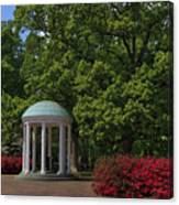 Chapel Hill Old Well Canvas Print