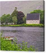 Chapel In The Mist - Gougane Barra - County Cork - Ireland Canvas Print
