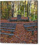 The Chapel In The Park Canvas Print