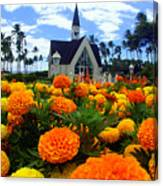 Chapel In The Sky Canvas Print
