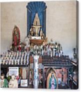 Chapel Mortuary Interior - San Xavier Del Bac Mission - Tucson Arizona Canvas Print