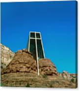 Chapel Of The Holy Cross Sedona Arizona Canvas Print