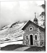 Chapelle Des Aravis Canvas Print