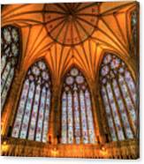 Chapter House York Minster Canvas Print