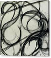 Charcoal Arc Drawing 6 Canvas Print