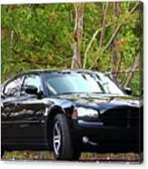 Charger Canvas Print