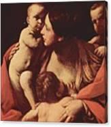 Charity 1607 Canvas Print