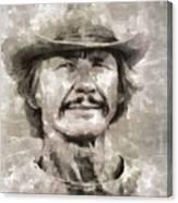 Charles Bronson, Actor Canvas Print