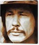 Charles Bronson, Hollywood Legend Canvas Print