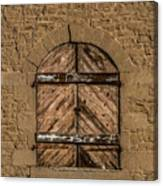 Charles Goodnight Barn Doors Canvas Print
