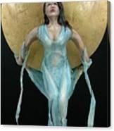 Charles Hall - Creative Arts Program - Full Moon Canvas Print