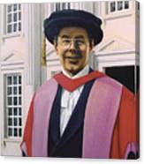 Charles Harpum Receiving Doctorate Of Law Canvas Print