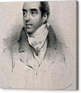 Charles Hatchett, English Chemist Canvas Print