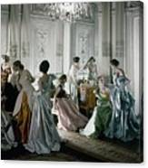 Charles James Gowns Canvas Print