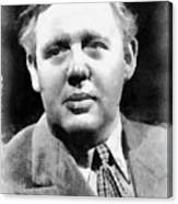 Charles Laughton Vintage Actor Canvas Print