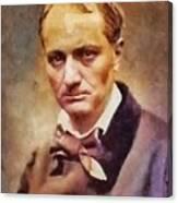 Charles Pierre Baudelaire, Literary Legend Canvas Print