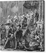 Charles X Canvas Print