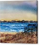 Charleston At Sunset Canvas Print