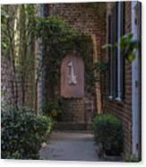 Charleston Brick Alley Canvas Print