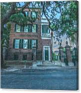 Charleston By Moonlight Canvas Print