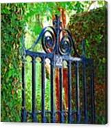 Charleston Gate 1 Canvas Print