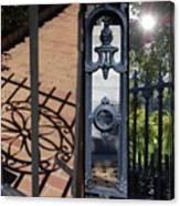 Charleston Gates Canvas Print