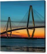 Charleston Golden Hour Canvas Print