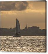 Charleston Sailing Canvas Print